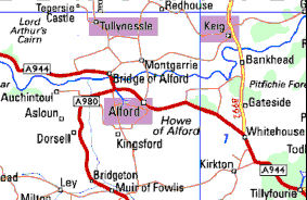 Howe Trinity is an amalgamation of Alford, Keig, and Tullynessle & Forbes Parishes